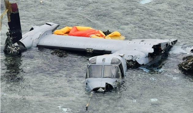 Avustralya'da ABD askeri uçağı denize düştü