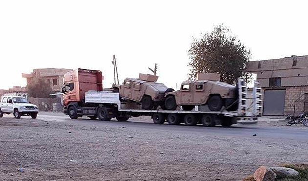 ABD'den PYD'ye askeri yardım tüm hızıyla sürüyor
