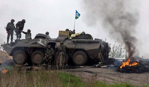 Ukrayna'nın doğusunda 325 binden fazla ateşkes ihlali