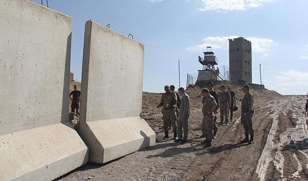 Türkiye-İran sınırındaki güvenlik duvarı inşaatı başladı