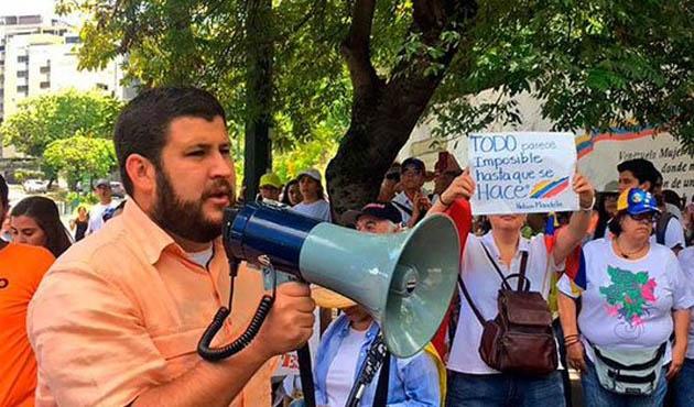 Venezuela'da muhalif belediye başkanına hapis yolu