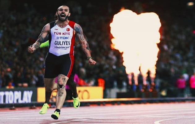 Milli sporcu Ramil Guliyev dünya şampiyonu