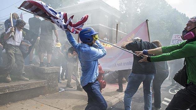 ABD'deki Yahudi ve Müslümanlardan ırkçı göstericilere sert tepki