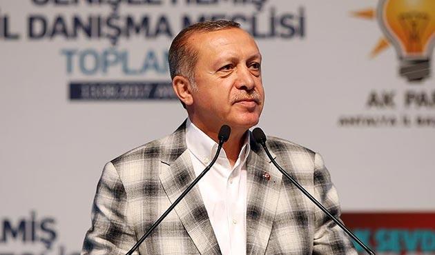 Erdoğan: Partimizin çatısı altında FETÖ'cüleri asla barındıramayız