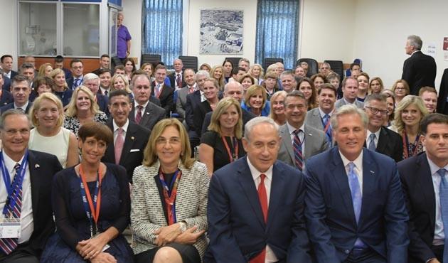 Netanyahu'dan Kongre üyelerine: Kürtlerin bir devleti olmalı