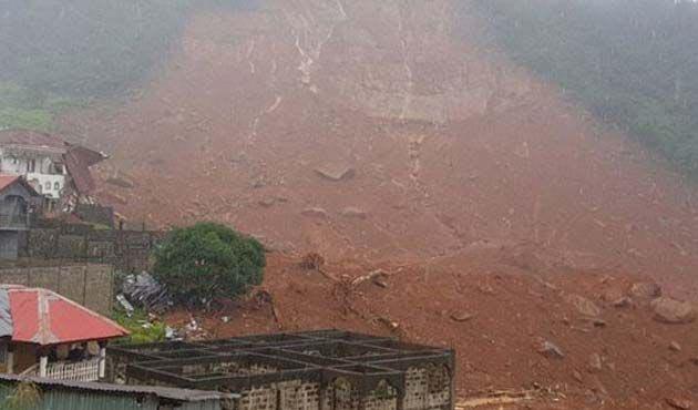 Sierra Leone'daki sel ve toprak kaymalarında 312 ölü