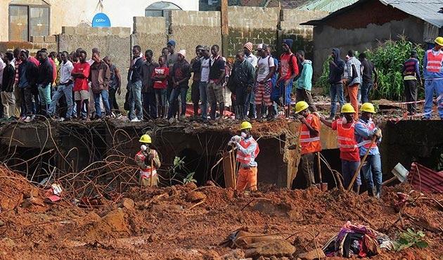 Sierra Leone'deki heyelanda ölü sayısı 350'yi geçti