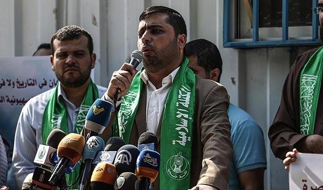 Hamas: İsrail Gazze'ye duvar örmekle Filistin direniş gruplarını kışkırtmakta