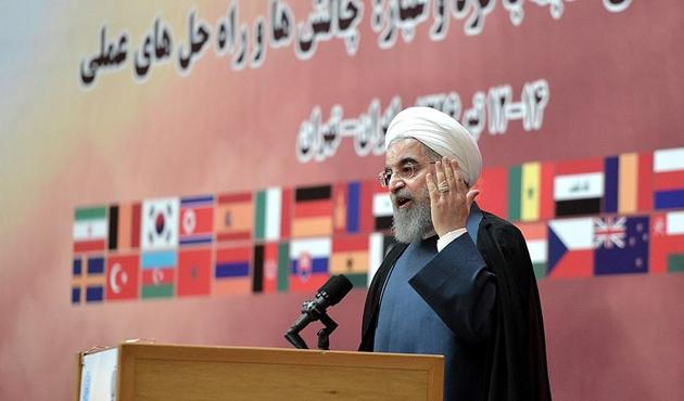 Ruhani'den ABD'ye 'nükleer' tehdidi
