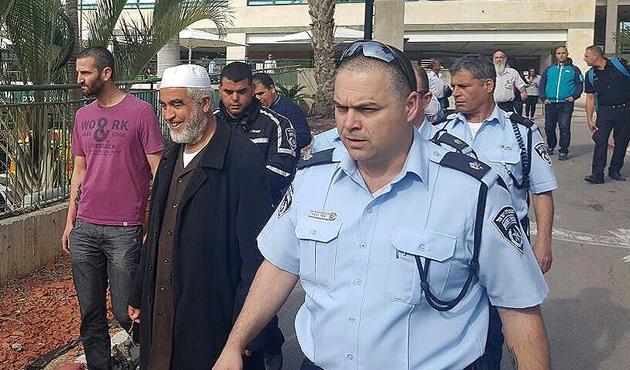 İsrail polisi Raid Salah'ı gözaltına aldı