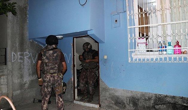 Adana'da şafak vakti terör operasyonu: 12 gözaltı