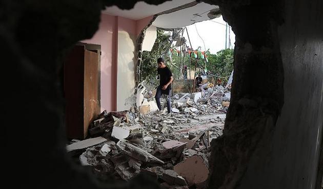 İsrail'in Filistinlilere ait evi yıkmasından sonra çıkan olaylarda 27 yaralı
