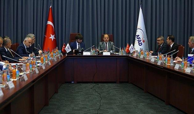 Afet yönetim stratejisi ve eylem planı hazırlanacak