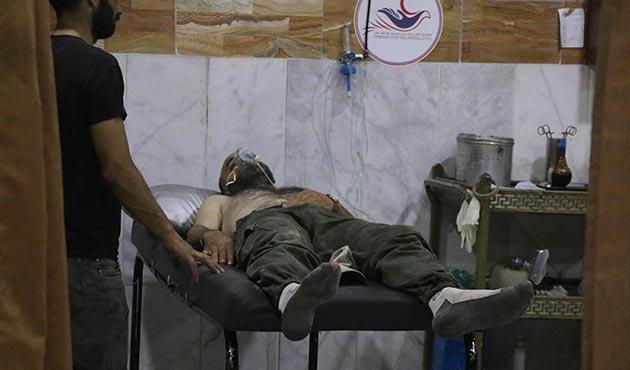Esed rejiminin Doğu Guta'ya zehirli gazla saldırdığı iddiası