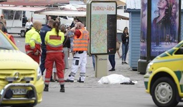 Finlandiya'da bıçaklı saldırı: Ölü ve yaralılar var