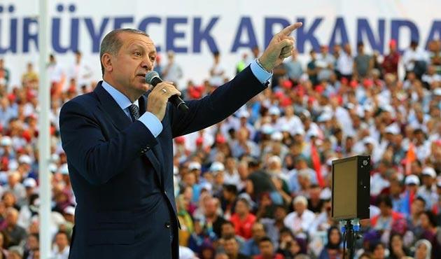 Cumhurbaşkanı Erdoğan: Sen kimsin ki Türkiye'nin Cumhurbaşkanına konuşuyorsun