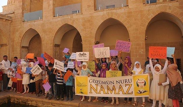 Mardin'de 'Hayat Namaz ile Güzeldir' etkinliği