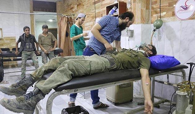 Şam'da 'çatışmasızlık bölgesi'ne kimyasal saldırı iddiası