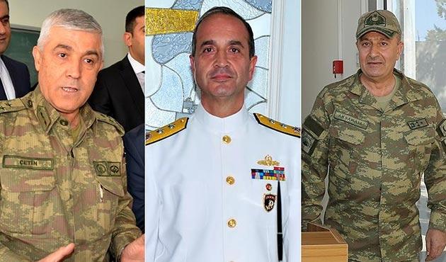 Jandarma, Donanma ve 2. Kolordu Komutanlığı'na atamalar