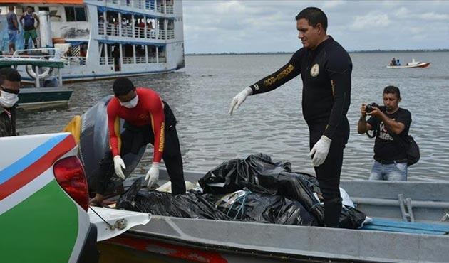 Brezilya'da tekne battı: 22 ölü