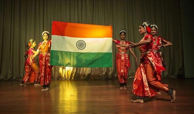 Hindistan'ın bağımsızlığının 70. yılı kutlandı