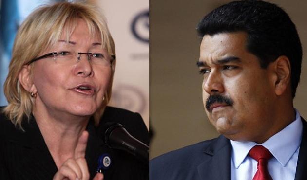 Görevden alınan Başsavcı'dan Maduro'ya suçlama