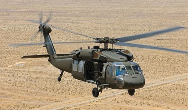 Yemen'de ABD'ye ait helikopter düştü
