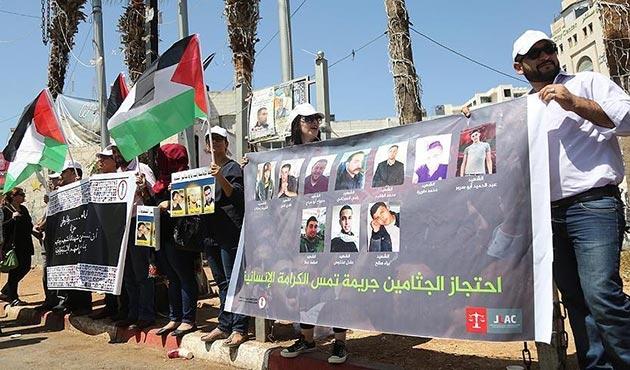 Filistinliler işgal güçlerinden yakınlarının cenazelerini istiyor