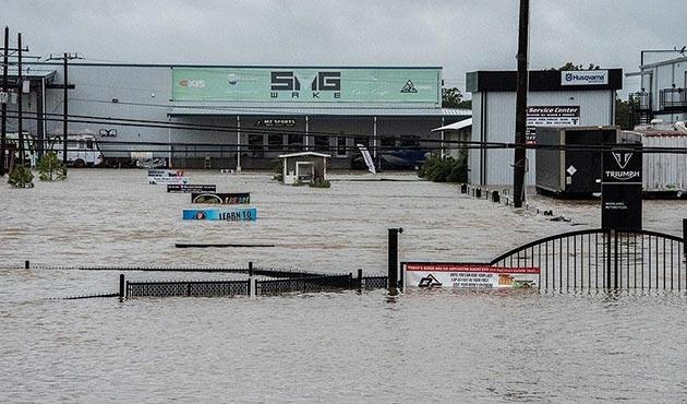Harvey Kasırgası'nın ABD'ye maliyeti 100 milyar dolara ulaşabilir
