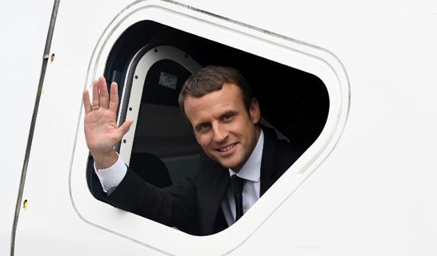 Macron, Ortadoğu Barış Süreci'ni desteklemek için bölgeye gidecek