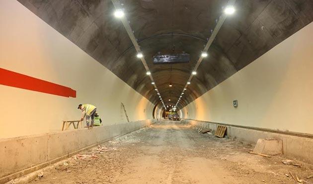 Dünyanın en uzun ikinci tüneli Ovit'te sona doğru