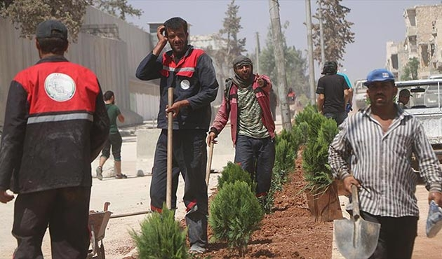 Bab'ta üç yıl aradan sonra DEAŞ'sız Kurban Bayramı hazırlıkları