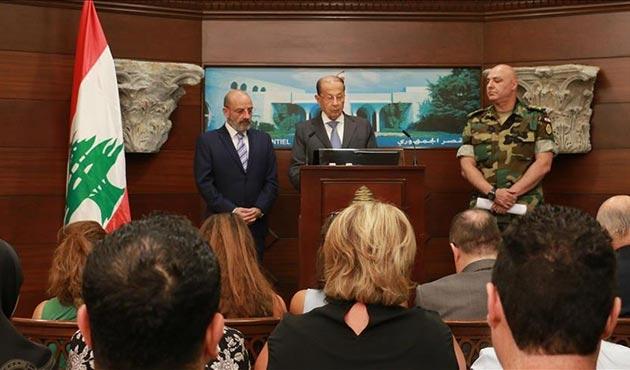 Lübnan Cumhurbaşkanı'ndan DEAŞ'a karşı zafer ilanı