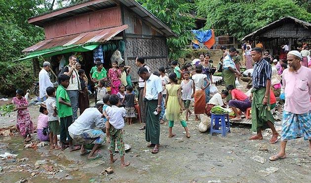 Cansuyu, Arakanlı mazlumlara yardım faaliyetlerine başladı