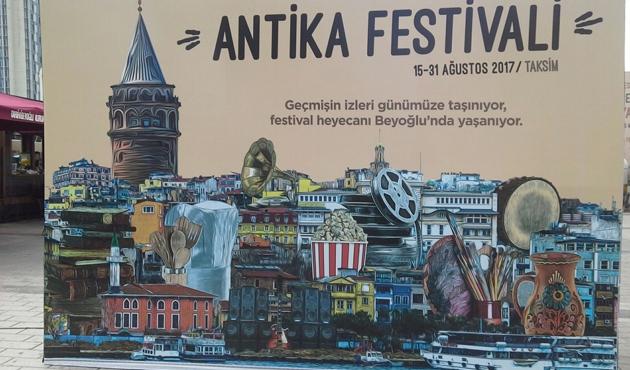Türkiye'nin antikası Beyoğlu'nda