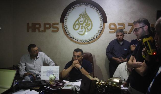 İsrail askerleri Batı Şeria'da bir medya ağının merkezini kapattı