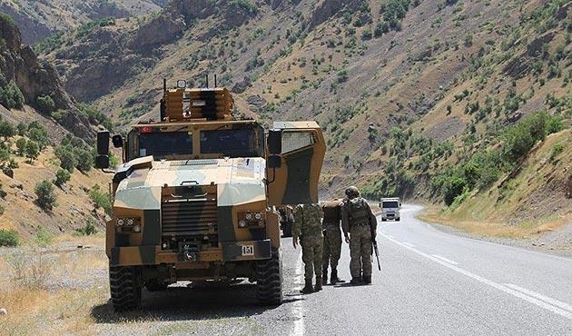 Hakkari ve Kars'ta 9 PKK'lı etkisiz hale getirildi