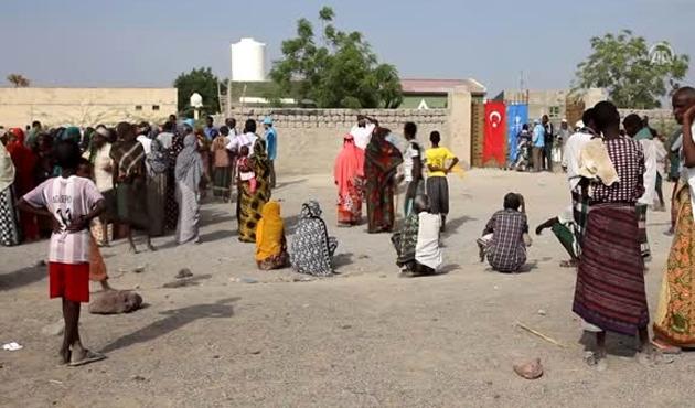 Etiyopya'da TDV'den 120 bin aileye kurban yardımı