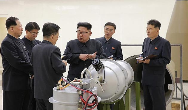 Kuzey Kore bu kez de 'hidrojen bombası' denedi