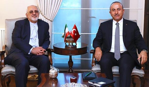 Çavuşoğlu, İranlı mevkidaşı ile Arakan'ı görüştü