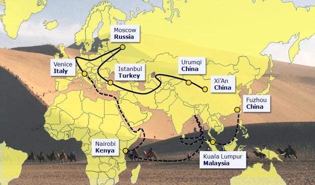 Çin liderinden Yeni Gine'ye İpek Yolu çağrısı