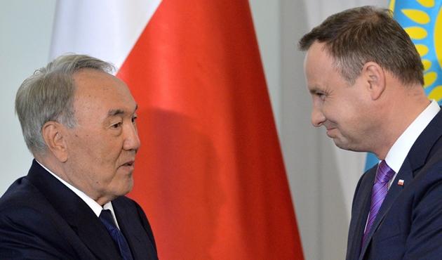 Polonya Cumhurbaşkanı Duda Kazakistan'da