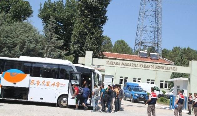 Kırklareli'nde 117 sığınmacı yakalandı