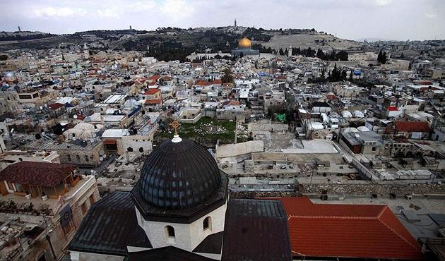 Kudüs'teki kiliselerden İsrail'in ihlallerine kınama