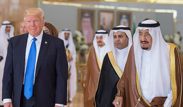 Trump, Kral Selman ile Beyaz Saray'da görüşecek