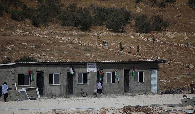 İşgal güçlerinin yıktığı okul yeniden açıldı