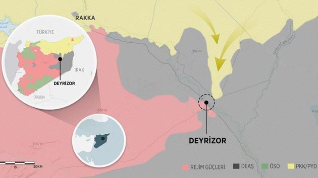 DEAŞ, Deyrizor'u PYD'ye bırakıyor