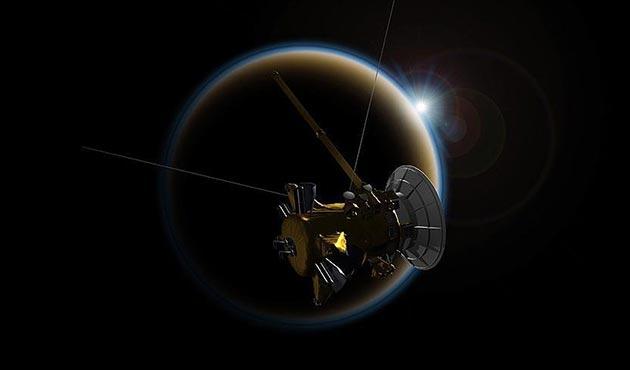 Cassini'den Titan'a son veda