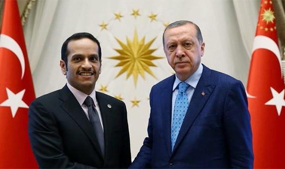 Cumhurbaşkanı Erdoğan, Katar Dışişleri Bakanı'nı kabul etti
