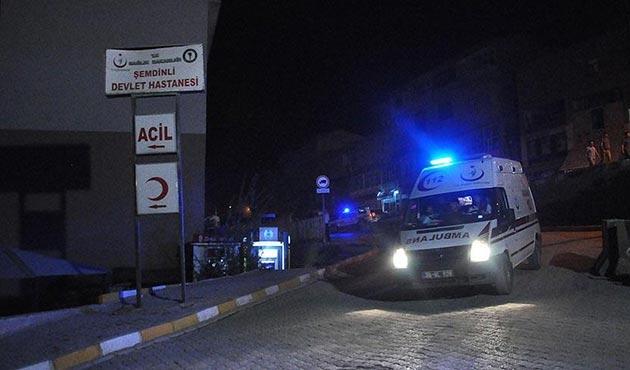 Hakkari'de bombalı terör saldırısı: 1 şehit, 3 yaralı